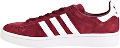 Кросівки Adidas Campus Shoes 3-Stripes Classic Sneakers Burgundy (F97245), 42.5