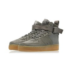 Черевики Nike Air Force 1 Mid Dark Stucco (AA3966-004), 37.5